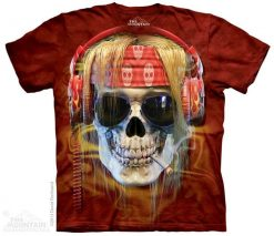 3D Футболка The Mountain - Rocker Skull