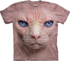 3D Футболка The Mountain - Hairless Pussycat Face