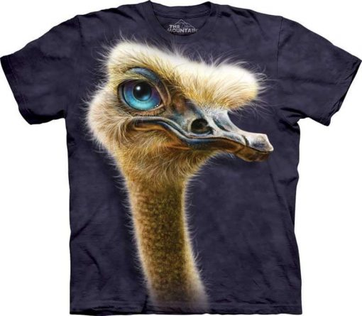 3D Футболка The Mountain - Ostrich Totem