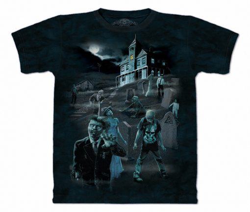 3D Футболка The Mountain - Zombies & Ghosts